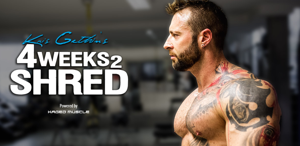 Image result for kris gethin 4 weeks 2 shred